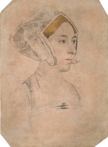 Anne Boleyn by Holbein