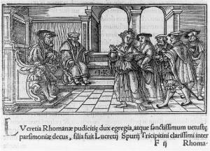 Lucretia & Her dagger