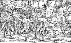 Soldiers in Peasants' War, 1525