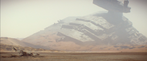 Wrecked Star Destroyer