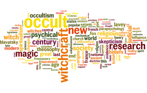 Word Cloud of Occult History Terms
